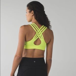 Lululemon All Sports 3 Strap Bra in Ray